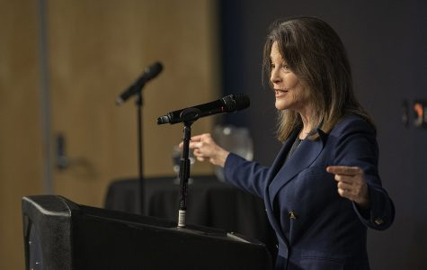 Marianne Williamson says her campaign 'must continue'