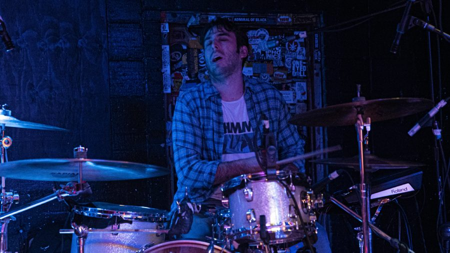 Magic City Hippies perform at Gabe's in downtown Iowa City on Friday, Oct. 11, 2019. Magic City Hippies is an up and coming alternative indie band from Miami in the process of releasing their new album, Modern Animal.