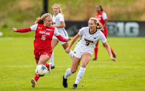 Photos: Iowa soccer vs. Maryland (10/13/2019)