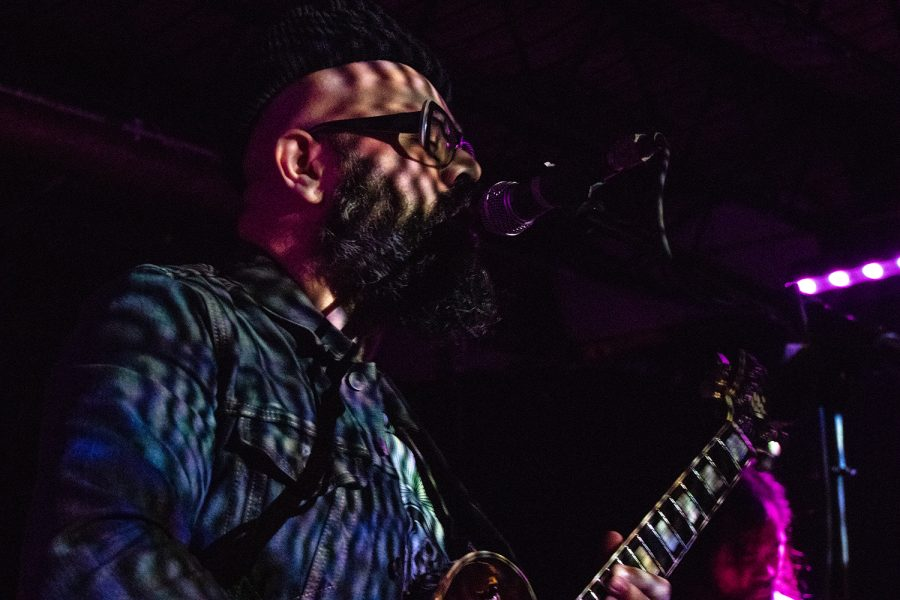 Here Lies Man performs at Gabe's as part of the Witching Hour Festival on Friday, October 12, 2018. Former member of Afrobeat collective Antibalas, Marcos Garcia released his first project for Here Lies Man in 2017.
