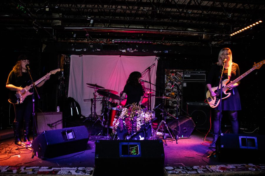 Younger performs at Gabe's as part of the Witching Hour Festival on Friday, October 12, 2018. Younger is an Iowa City art rock band. During the show, they performed songs from their upcoming album