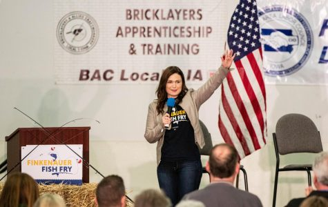 Presidential hopefuls connect climate change to infrastructure policies at first Finkenauer fish fry