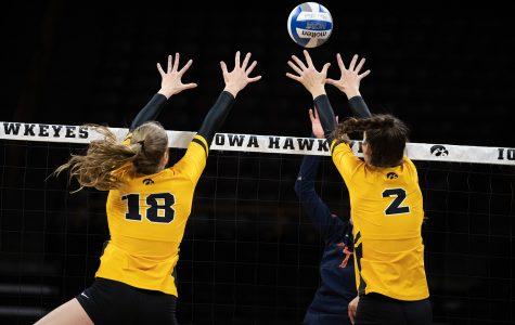 Hawkeye volleyball primed for big weekend