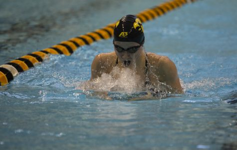 Iowa women's swim/dive gets impressive dual meet win ahead of mid-season invitational