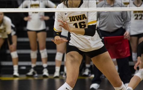 Iowa volleyball downed by Wolverines