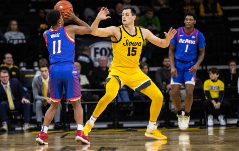 Hawkeye basketball falls to Blue Demons in Gavitt Games