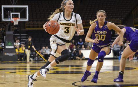 Photos: Iowa women's basketball vs. North Alabama (11/14/2019)