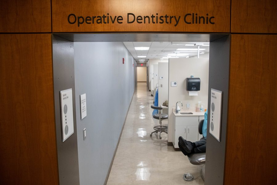 The Operative Dentistry Clinic in the College of Dentistry is seen on Wednesday November 20, 2019.