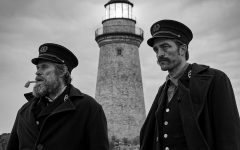 """Willem Dafoe and Robert Pattinson in """"The Lighthouse."""" (Eric Chakeen/A24/TNS)"""