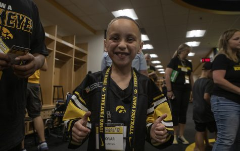 From 'miracle baby' to Kid Captain: Skylar Hardee will cheer on the Hawkeyes