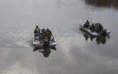 Law enforcement searching river near Iowa Avenue bridge under suspicion of jumper
