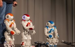Robots take the stage at Hancher Auditorium