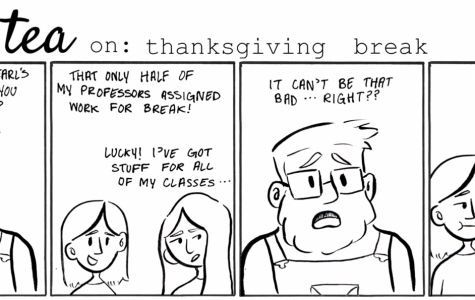 Cartoon: Earl's Tea: Thanksgiving Break