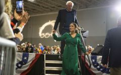 Bernie Sanders and Alexandria Ocasio-Cortez preach grassroots campaigning in Coralville stop