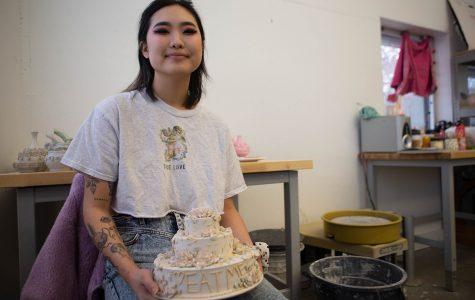 Everyday items made beautiful: UI student creates ceramic art through intricate designs