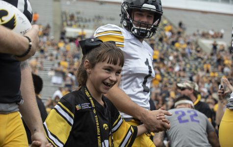 Kid Captain Aubrey Bussan-Kluesner granted her birthday wish this weekend