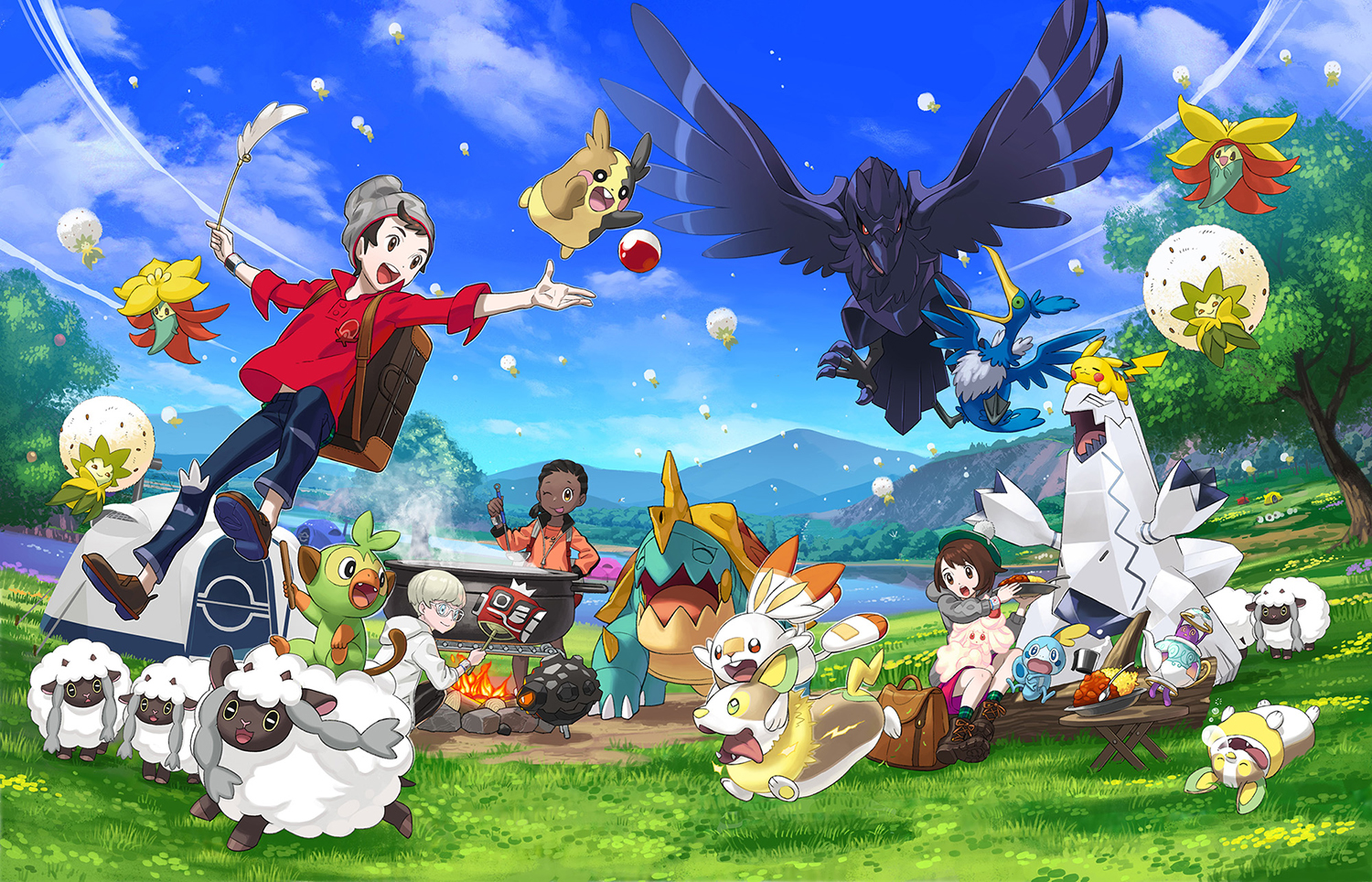The world of Pokemon Sword and Shield is chock full of surprises and things for players to do. (Nintendo of America/TNS)