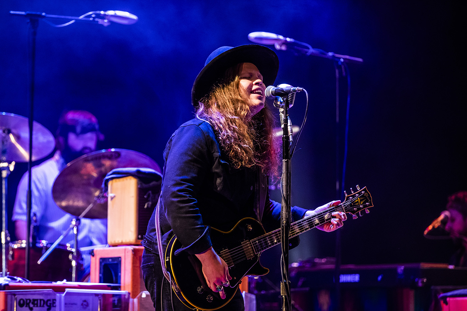 The Marcus King Band performs at the Englert Theatre on Thursday, November 21, 2019. King is a fourth-generation musician and is traveling with his band on their