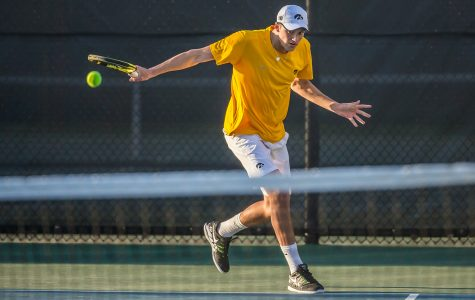 Men's tennis dominates Big Ten Indoor Championships