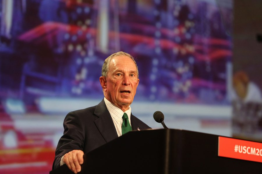 Former+New+York+Mayor+Michael+Bloomberg%2C+founder+of+Everytown+for+Gun+Safety.+