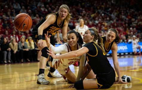 Photos: Iowa women's basketball at Iowa State (12/11/2019)