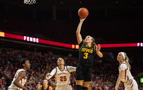 Women's basketball defeats Cyclones for fourth consecutive year