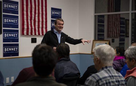 Michael Bennet seeks to separate himself from Joe Biden moderation