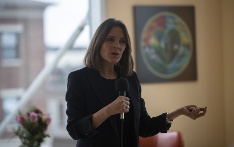 Marianne Williamson exits presidential-nomination race