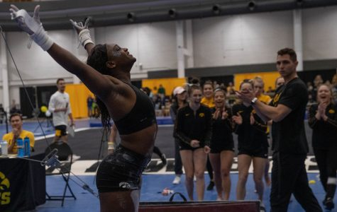 Photos: Women's Gymnastics Black and Gold (12/7/19)