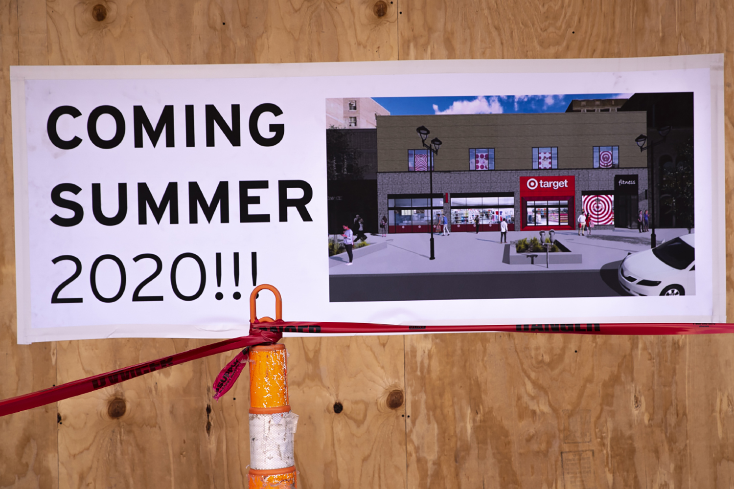 The soon to be location of a new Target is seen in downtown Iowa City on Friday, August 30th, 2019.
