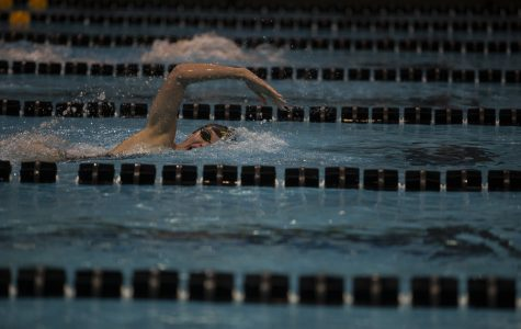 Iowa women's swim/dive defeats Iowa State in the Cy-Hawk Series