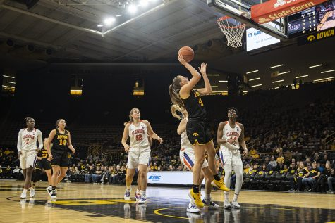 Numbers behind No. 21 Iowa's 76-70 win over Indiana