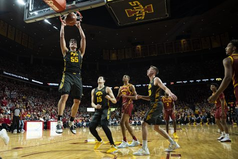 Joe Wieskamp's status unclear as Cy-Hawk men's basketball game approaches