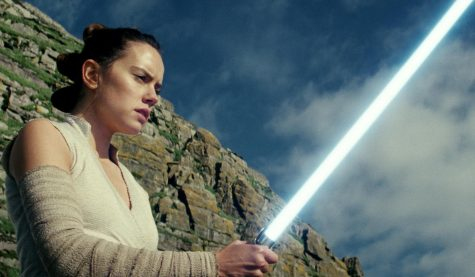 """Star Wars: The Last Jedi"" begins where ""The Force Awakens"" left off, with Rey (Daisy Ridley) having tracked down Luke Skywalker. [Walt Disney Pictures]"
