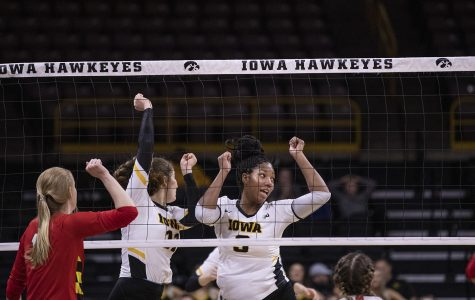 Photos: Iowa volleyball vs. Maryland (11/30/2019)