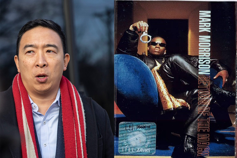 """Andrew Yang, Entrepreneur: """"Return of the Mack"""" by Mark Morrison"""