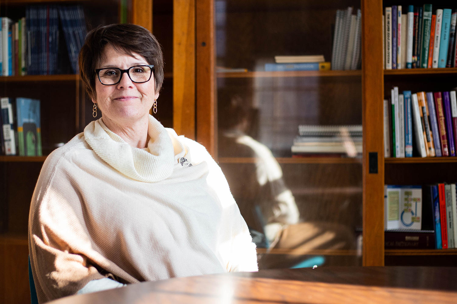 Jane Miller, Director of the Office of Consultation and Research in Medical Education, poses for a portrait on Monday December 2, 2019.
