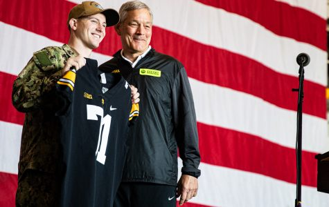 Iowa football selects honorary captain for Holiday Bowl