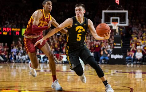 Photos: Iowa men's basketball at Iowa State (12/12/2019)