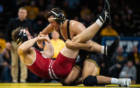 Hawkeye wrestling embracing tough stretch ahead