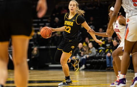 Photos: Iowa women's basketball vs. Clemson (12/4/2019)