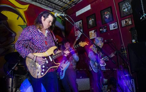 Grooving at Gabe's with funka-delic band, The Iceman Special