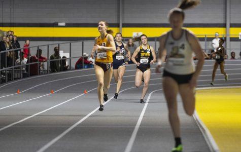 Iowa track and field closes indoor regular season