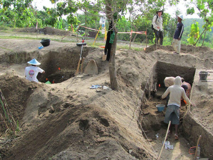 UI researcher, international team date the age of Homo erectus settlement
