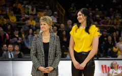 Gustafson's No. 10 retired after Hawkeye victory