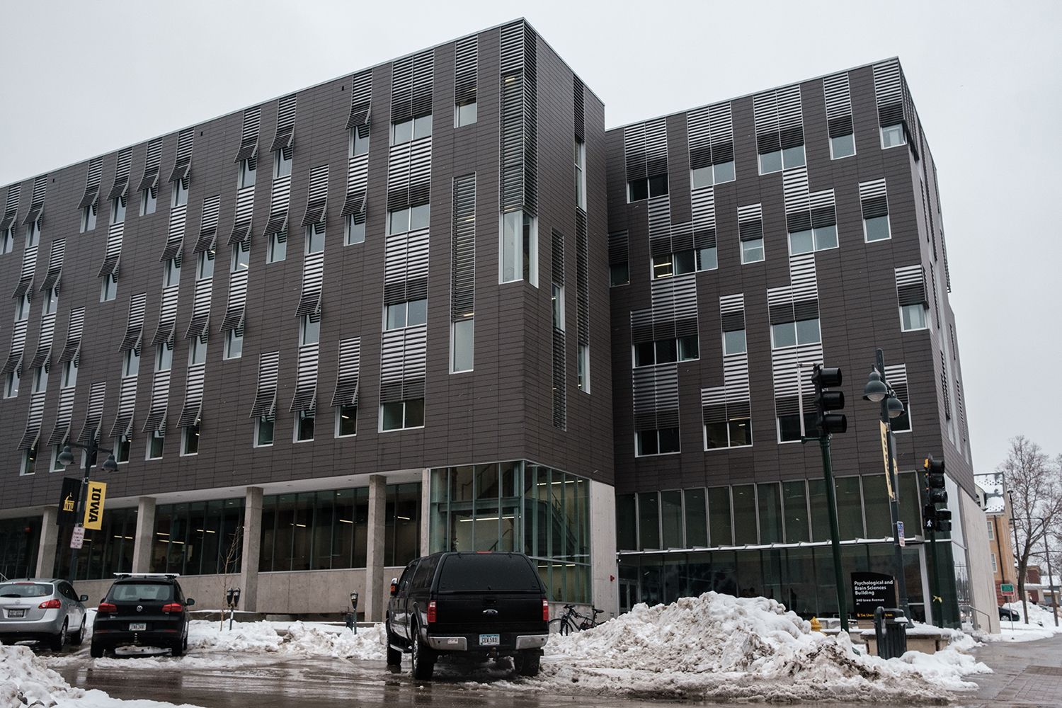 The Psychological and Brain Sciences building is seen on Friday, January 24, 2020.