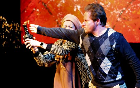 Iowa City Community Theatre's grotesquely funny production of God of Carnage explores the complexity of human nature