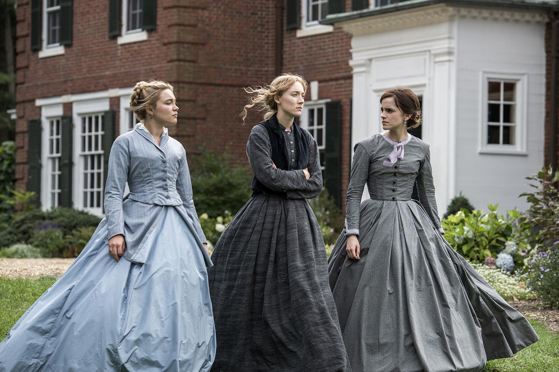 "Florence Pugh, Saoirse Ronan and Emma Watson in Greta Gerwig's ""Little Women."" (Wilson Webb/Sony Pictures/TNS)"