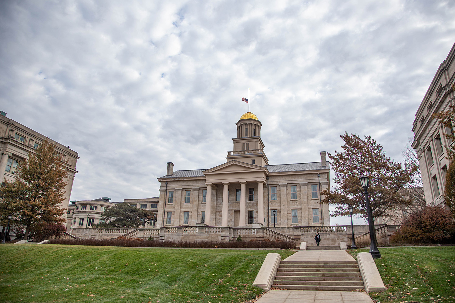 The Old Capitol building is seen on Wednesday, Nov. 20, 2019. The building was completed in 1842 and was home to the last four territorial legislatures first six Iowa General Assemblies until the state capital moved to Des Moines in 1857.