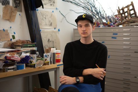 Student Spotlight: Printmaker dives into themes of power, idolization